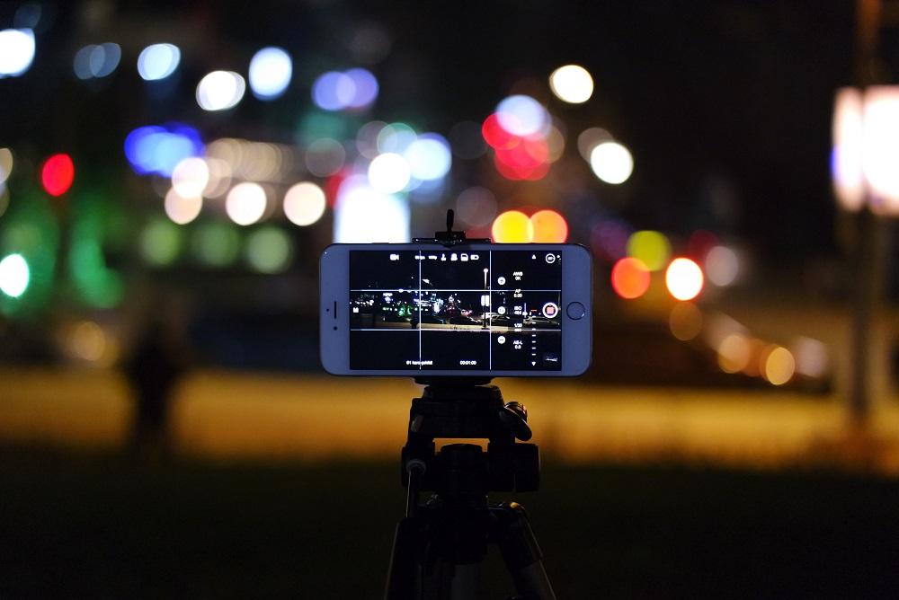Fotos noche móvil