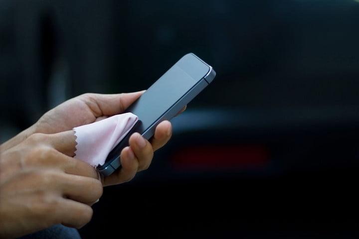 Limpieza de móviles