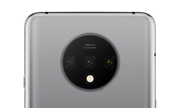 Cámaras traseras del OnePlus 7T