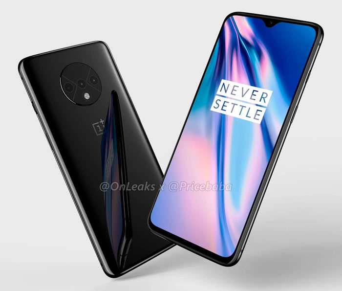 Frontal y trasera OnePlus 7T Pro