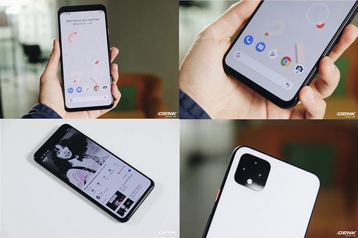 Posible diseño del Google Pixel 4 XL