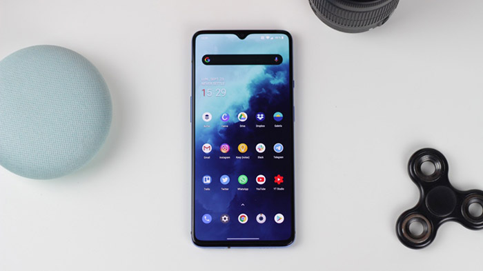 Frontal del OnePlus 7T