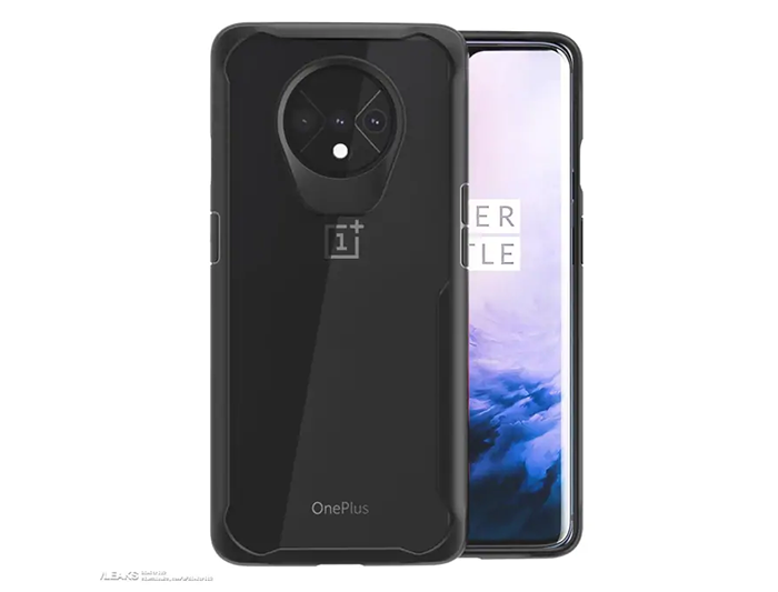 Frontal y trasera del OnePlus 7T Pro