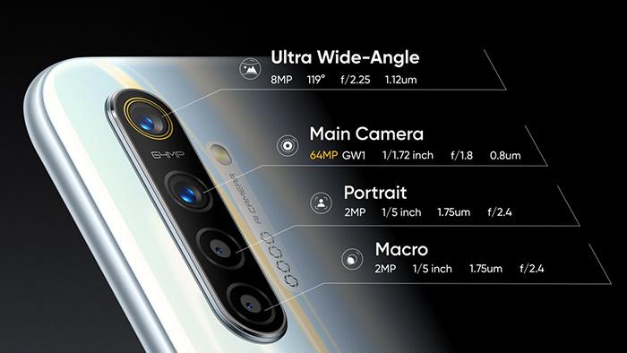 Características cámaras Realme XT