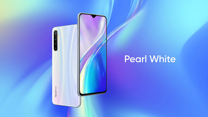 Realme XT en color blanco