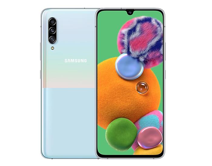 Frontal y trasera del Samsung Galaxy A90 5G