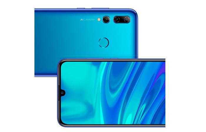 Frontal y trasera en vertical del Huawei P Smart Plus 2019