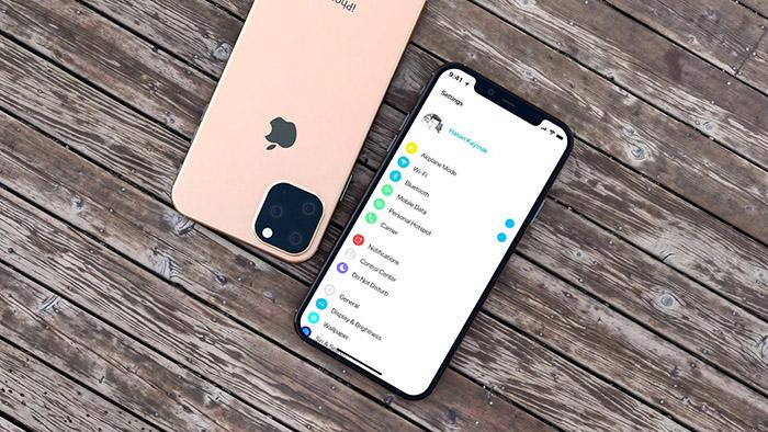 Posible diseño del nuevo iPhone 2019