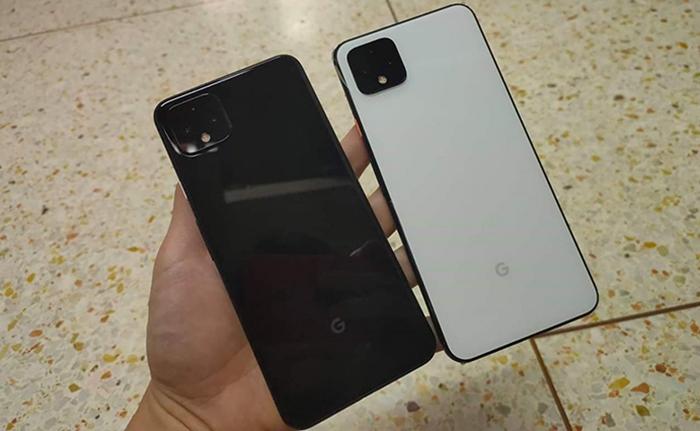 Google Pixel 4 XL en blanco y negro