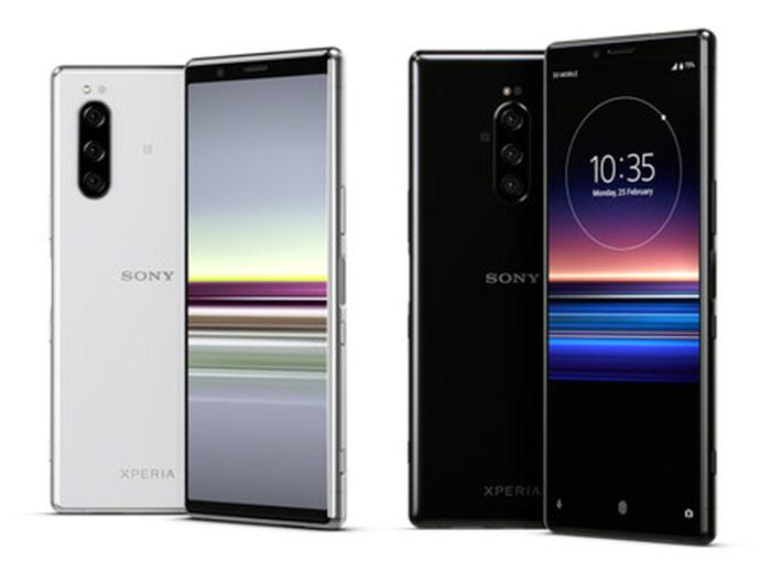 Frontal y traser del Sony Xperia 1