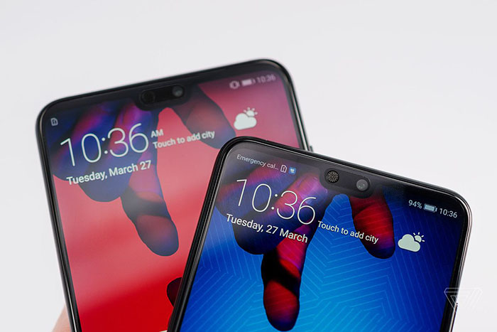 Frontal del Huawei P30 Pro