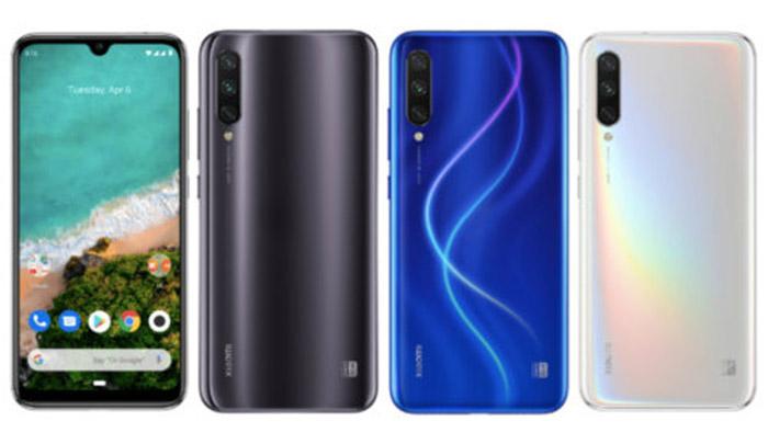 Frontal y trasera Xiaomi Mi A3