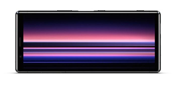 Pantalla Sony Xperia en horizontal