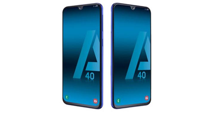 Frontal Galaxy A40