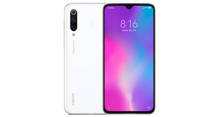 Frontal y trasera del Xiaomi Mi CC9