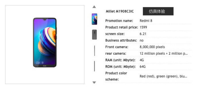 Datos del Xiaomi Redmi 8