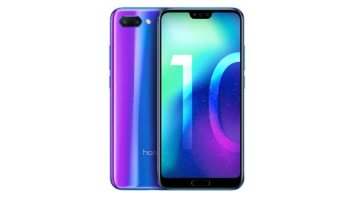 Frontal y trasera del Honor 10